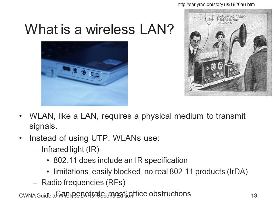 cwna guide to wireless lan Cwna guide to wireless lans, 3rd edition provides you with the  conceptual knowledge and hands-on skills needed to work with.