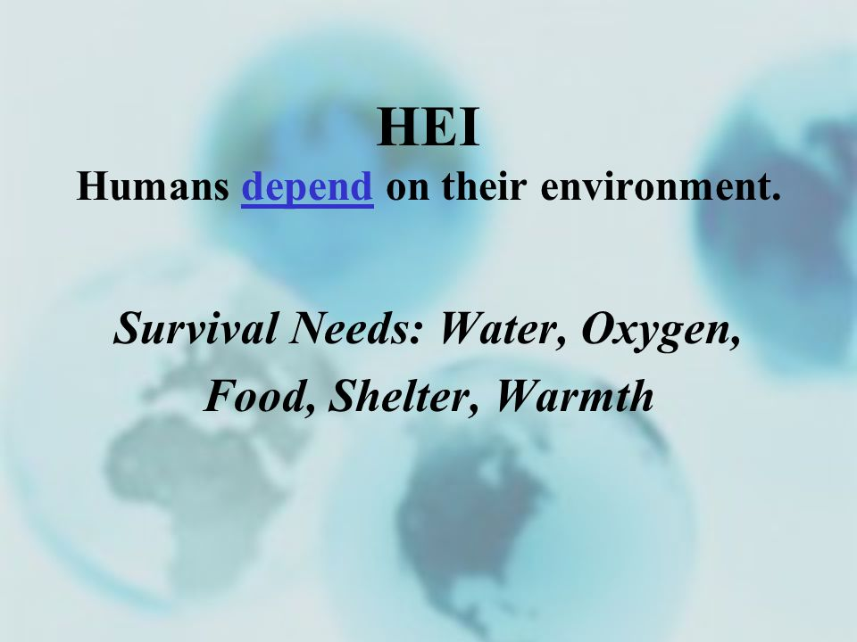 humans their environment Human ecology is an academic discipline that investigates how humans and human societies interact with both their natural environment and the human social environment motivation and emotion main articles: motivation and emotion.