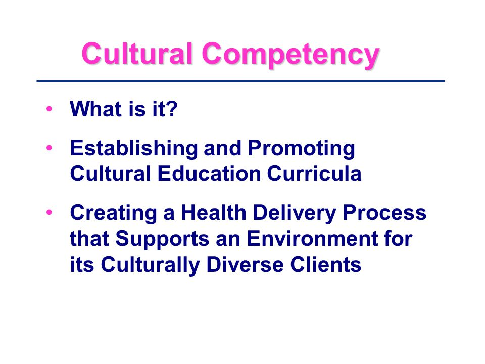 cultural competence How can the answer be improved.