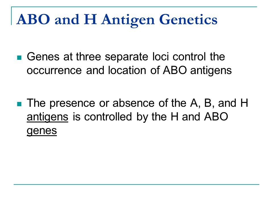 *.* abo blood group genetics don't know