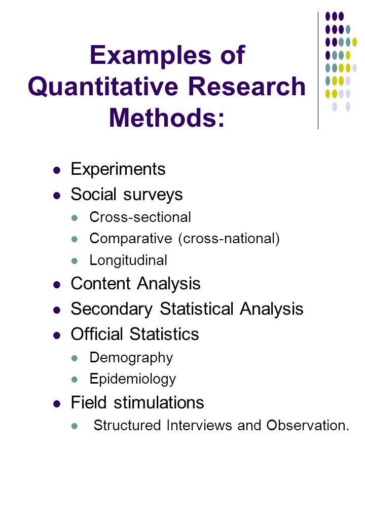 dissertation methods analysis