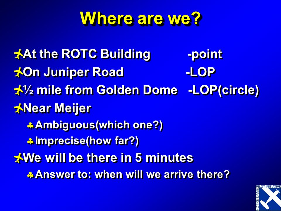 Where are we At the ROTC Building -point On Juniper Road -LOP
