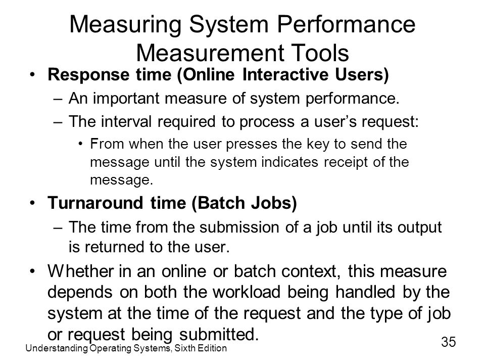 The Three Types of Methods Used to Measure Performance
