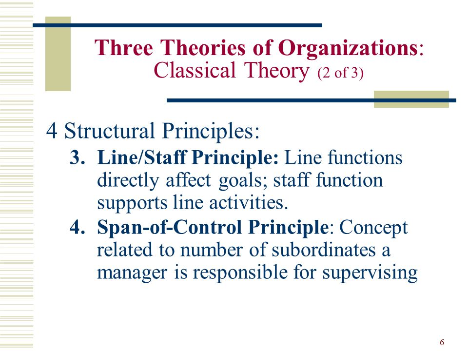 the classical theory of organisation and Classical and scientific the classical theory of public administration projects as a leadership in xx century organizations, patterns management organization.