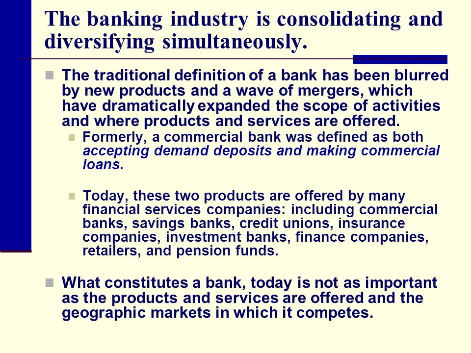 Banking Finance Definition