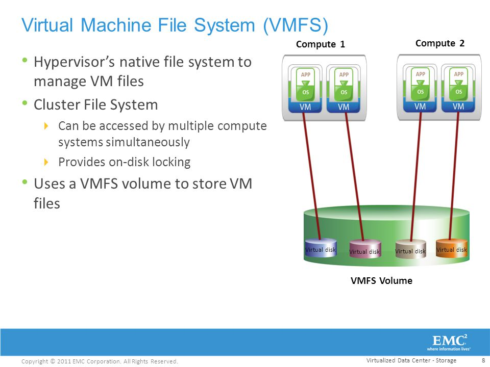 Virtual Machine File System (VMFS)