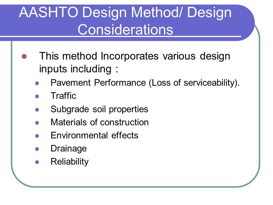 Aashto Pavement Design Software Free Download