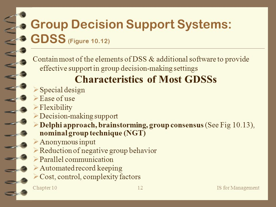 Group Decision System 93