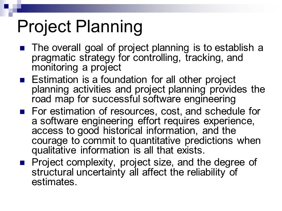 Software Project Planning  Ppt Video Online Download