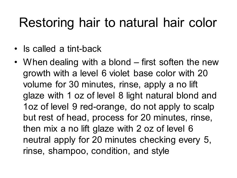 Haircolor Vs Hair Color Ppt Download