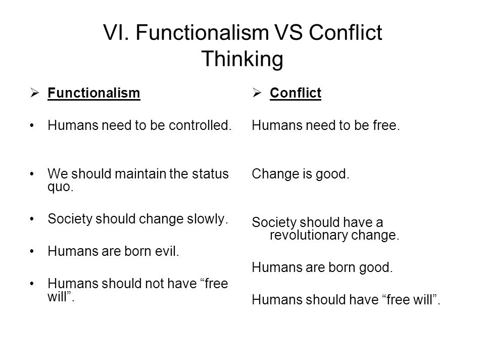 conflict theory vs exchange theory What is functionalist theory a: quick answer  conflict theory focuses on political, social and material inequality between social groups.