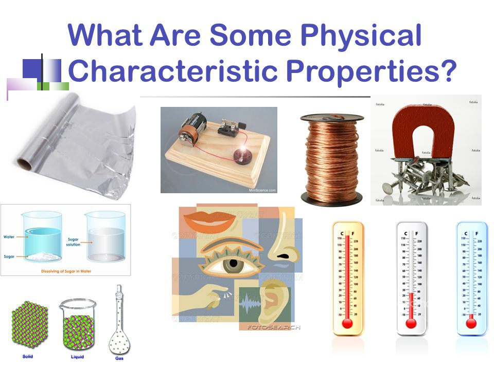 What Are Some Physical Characteristic Properties