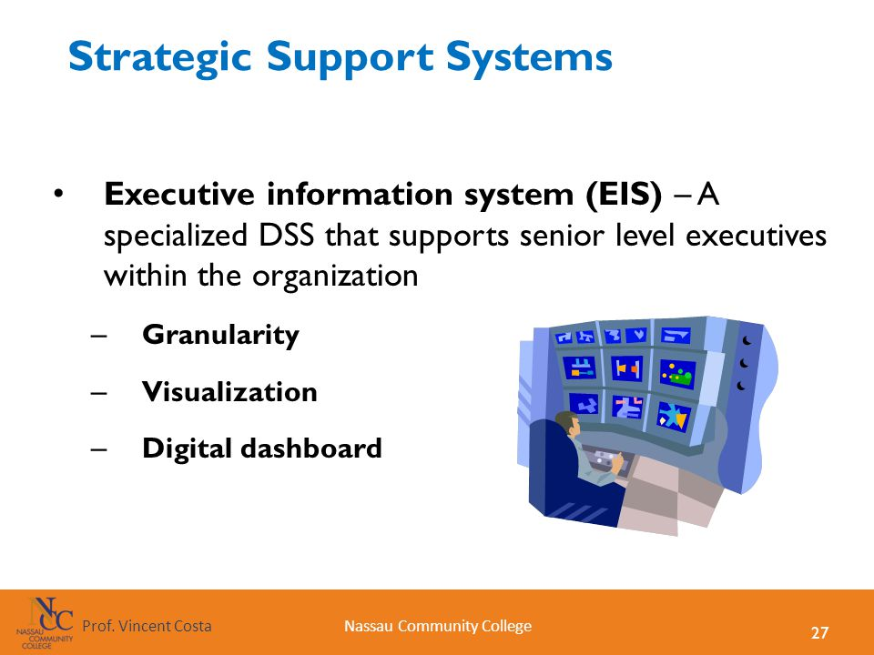 Strategic Support Systems