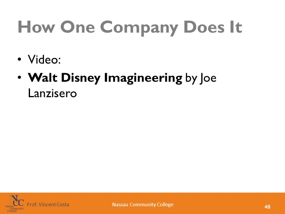 How One Company Does It Video: