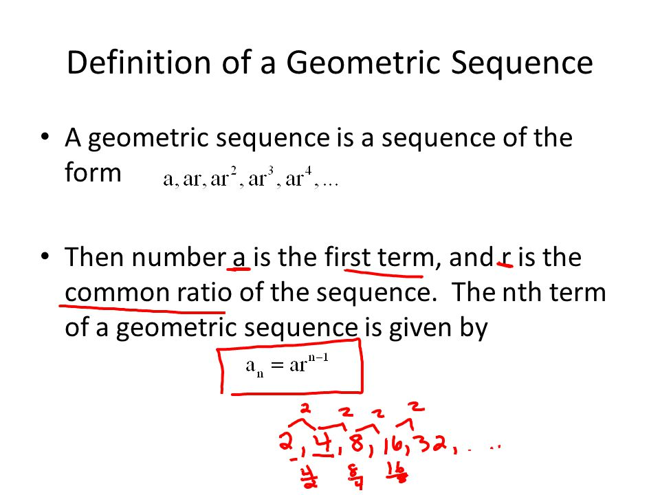 11 explain the sequence and rate Math 1090 sec 5 section 62: compound interest geometric sequences de nitions: if $p is invested at an interest rate of r per year, compounded annually, the future.