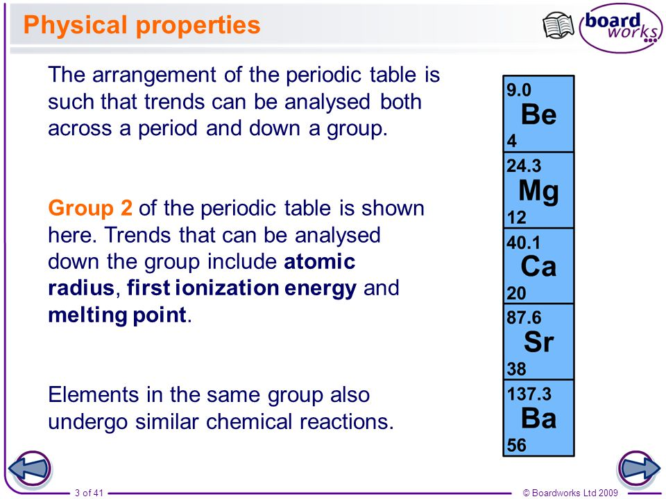 Boardworks as chemistry trends in group 2 ppt video online download boardworks as chemistry trends in group 2 urtaz Gallery