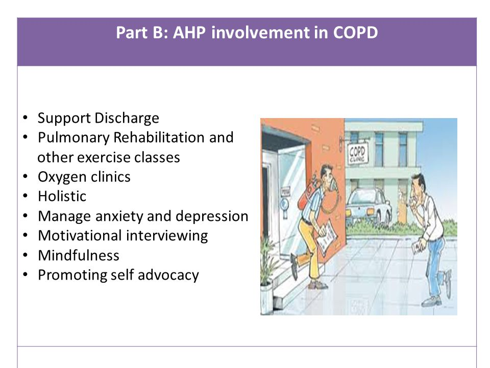 Part B: AHP involvement in COPD