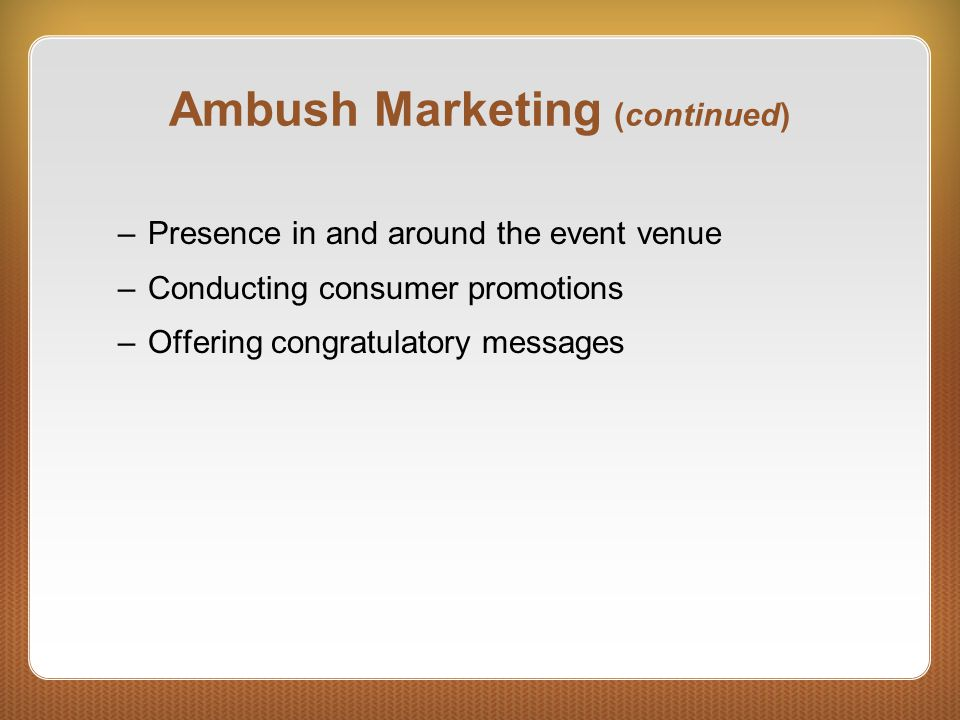 An Assessment of Consumer Knowledge of, Interest in, and Perceptions of Ambush Marketing Strategies