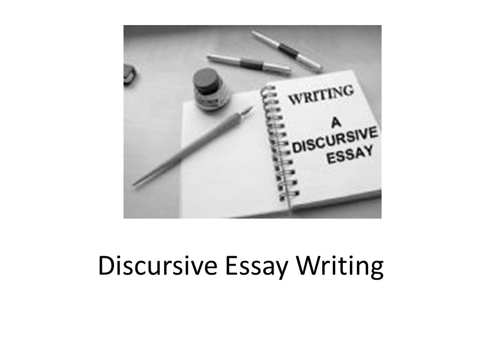 writing a discursive essay writing