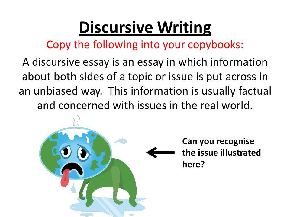Ideas for discursive essays