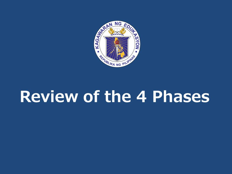 Review of the 4 Phases