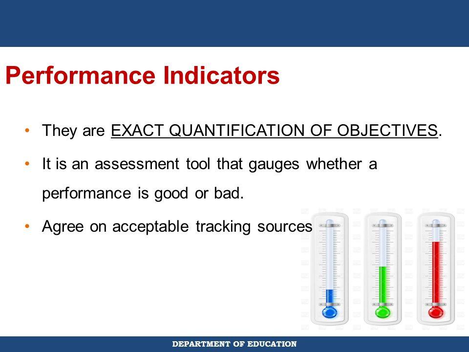 Performance Indicators