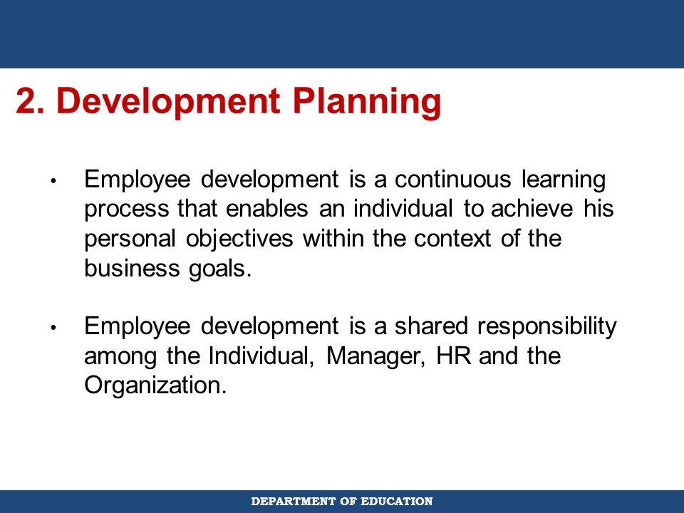 2. Development Planning