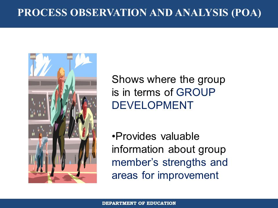 PROCESS OBSERVATION AND ANALYSIS (POA)