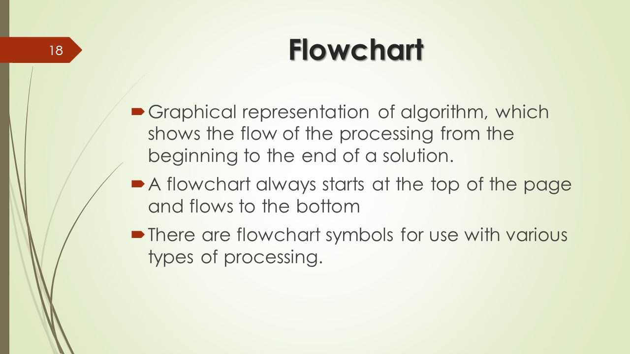 Chapter 3 planning your solution ppt video online download 18 flowchart graphical representation buycottarizona Gallery