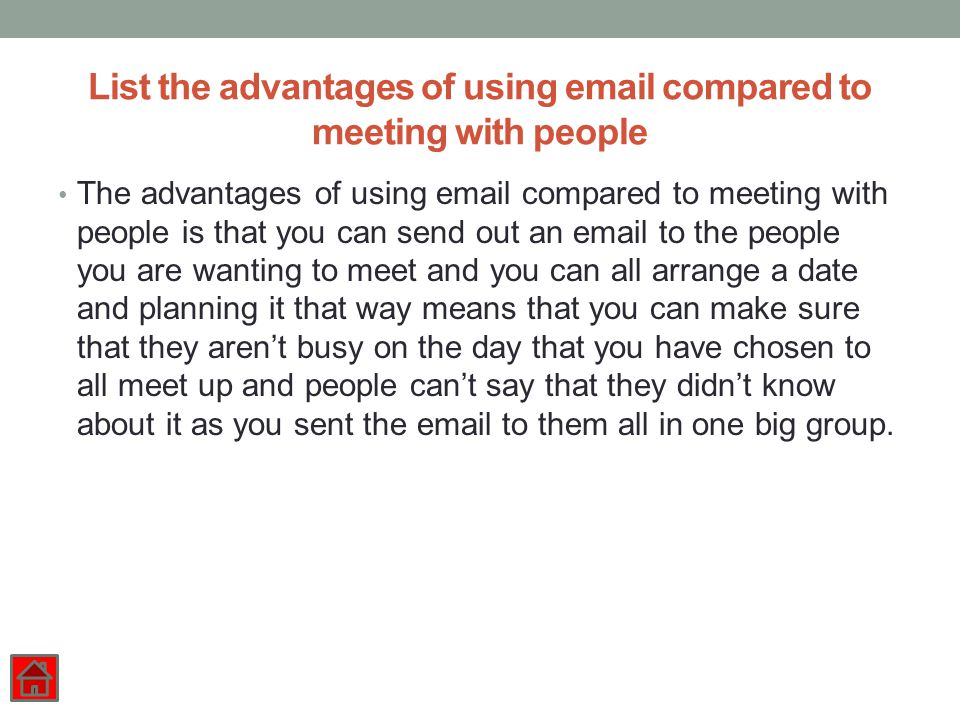 how to send one email to a group of people