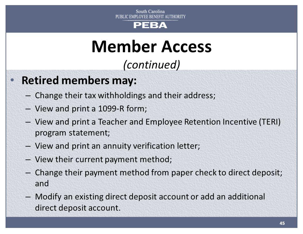 Understanding your retirement plan ppt video online download 45 member falaconquin