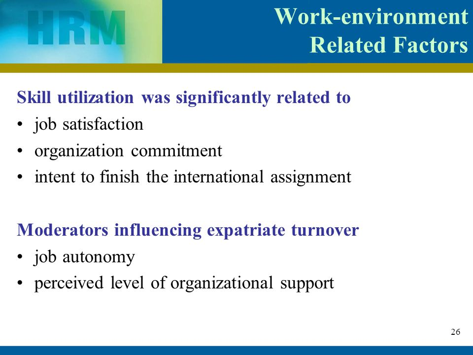 job related factors employee turnover management essay Explain factors associated with each type of work behavior  job performance,  citizenship, absenteeism, turnover  summary of factors that have the  strongest influence over work behaviors  in jobs such as working in sales,  management, engineering, or other professional areas, this ability is much more  important,.