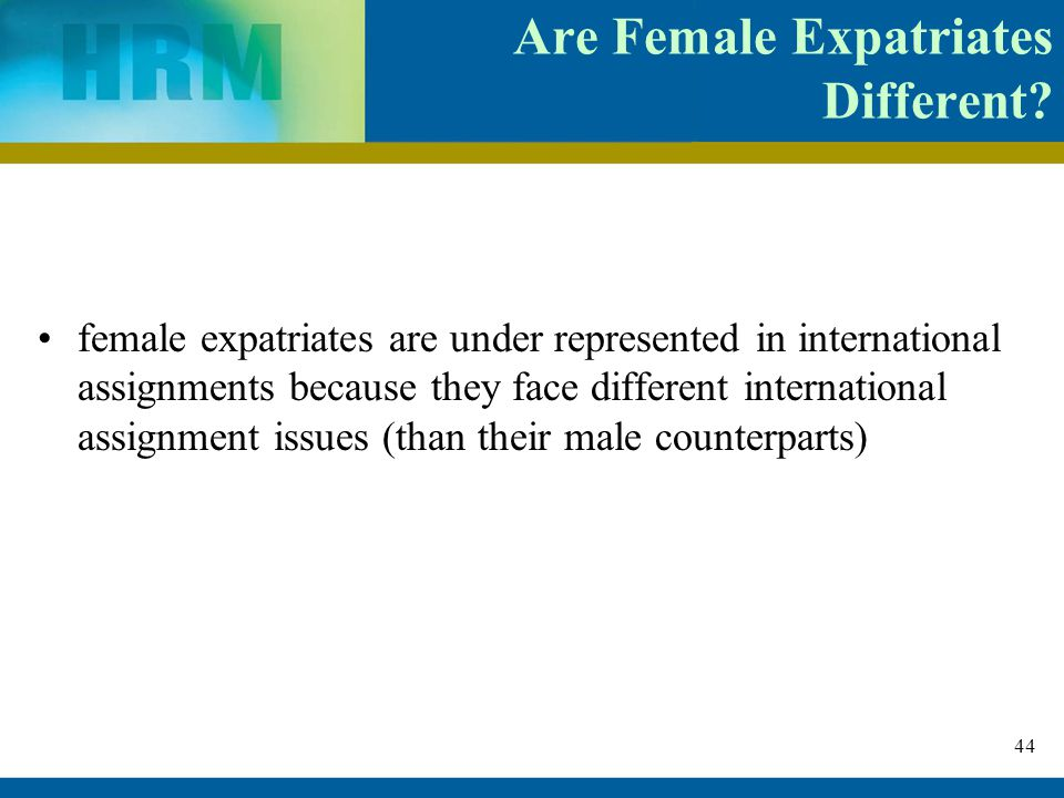 Challenges Faced by Female Expats