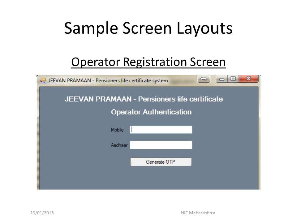 Jeevan Pramaan (Digital Life Certificate for Pensioner) - ppt download