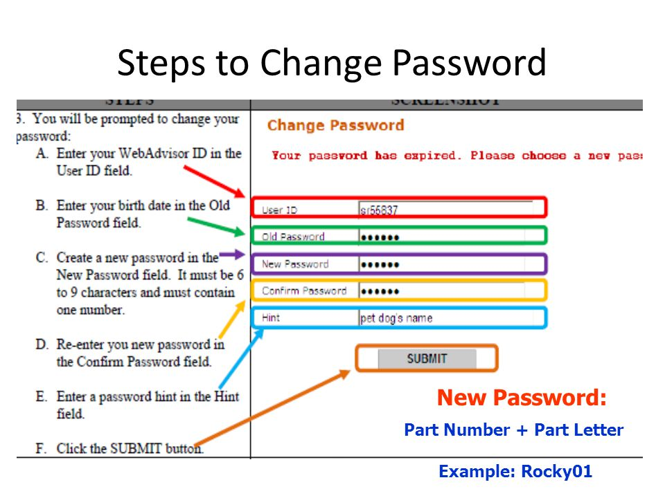 how to change a student password on edmodo