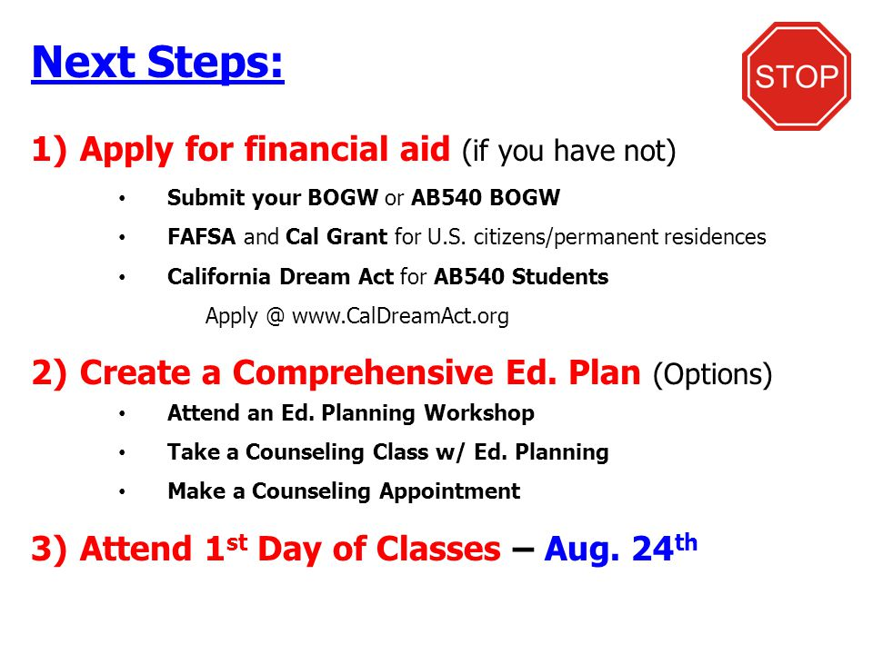 Welcome to santa ana college ppt video online download for Planning your dreams org