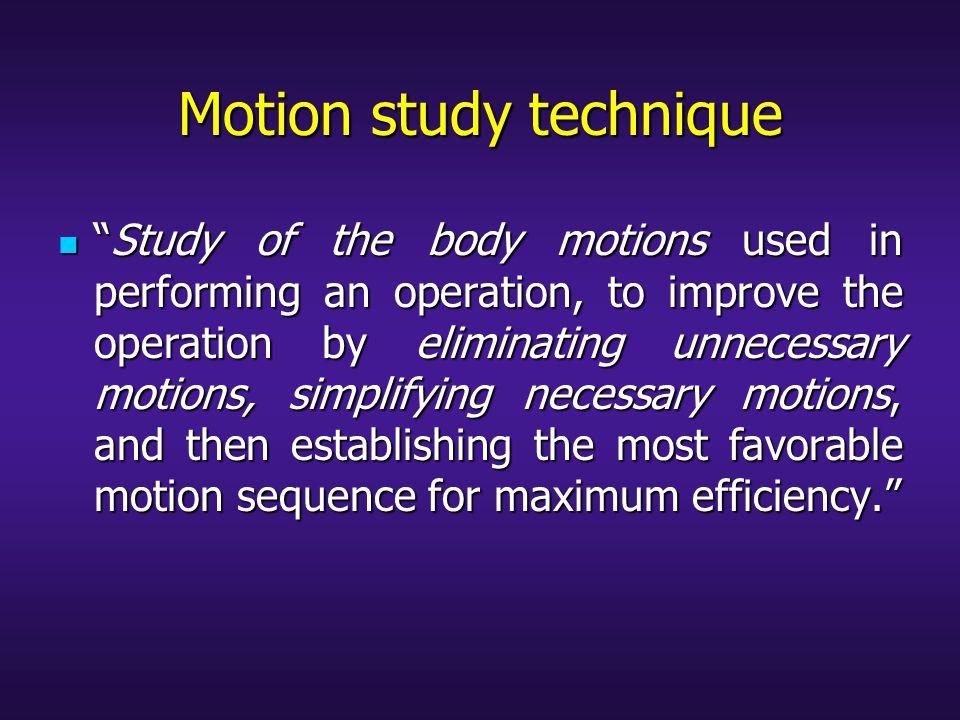 Pioneered study of motion