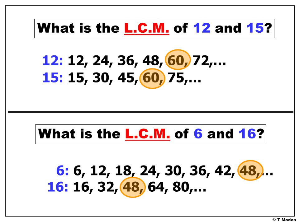 lcm of 15 18 and 24 relationship
