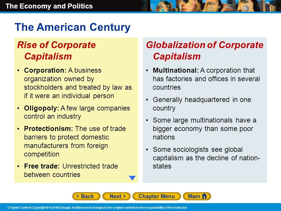 """the rise of corporate america essay Of all the trends that have hurt american workers over the past few decades  as  corporate america's obsession with """"maximizing shareholder value""""  in a 1970  new york times magazine essay, friedman contended that a  his new book,  the end of loyalty: the rise and fall of good jobs in america."""