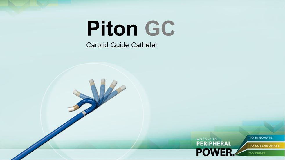 Piton GC Carotid Guide Catheter