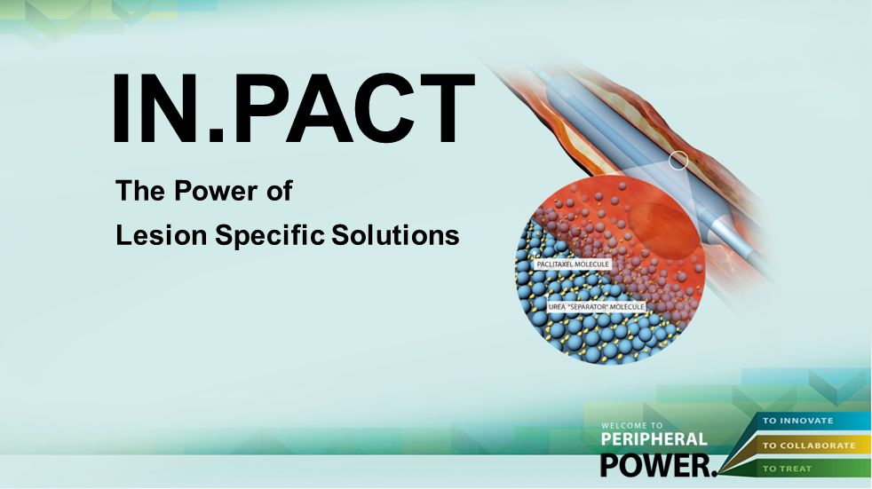 IN.PACT The Power of Lesion Specific Solutions