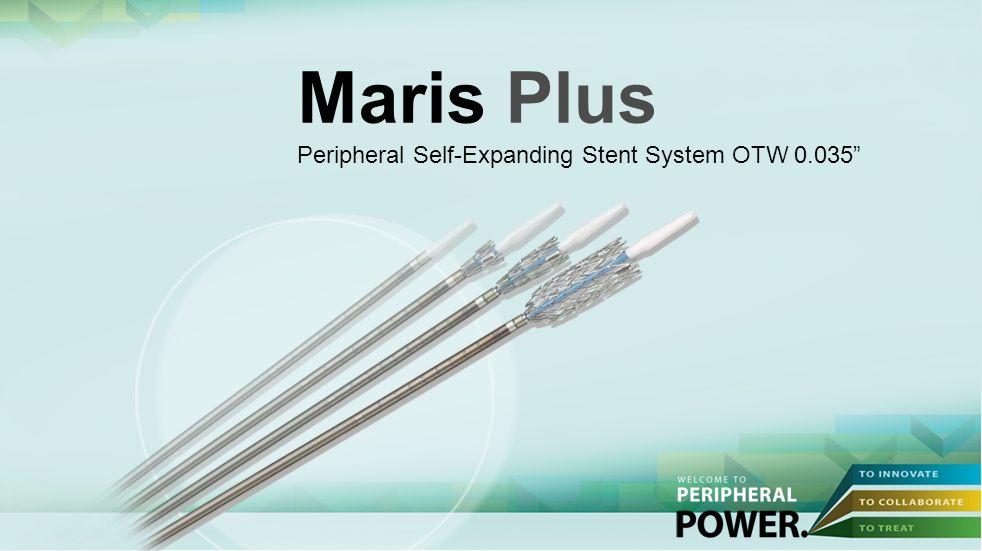 Maris Plus Peripheral Self-Expanding Stent System OTW 0.035