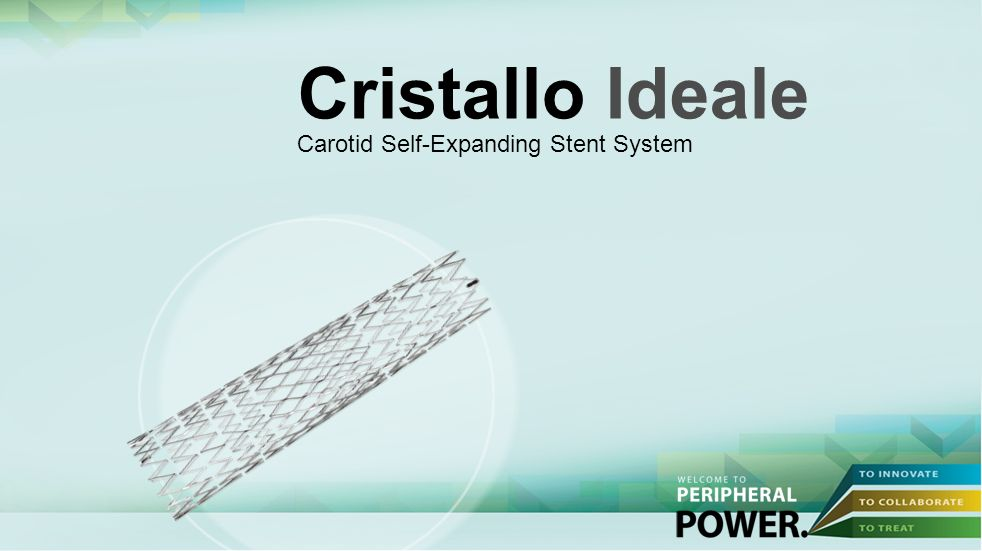 Cristallo Ideale Carotid Self-Expanding Stent System