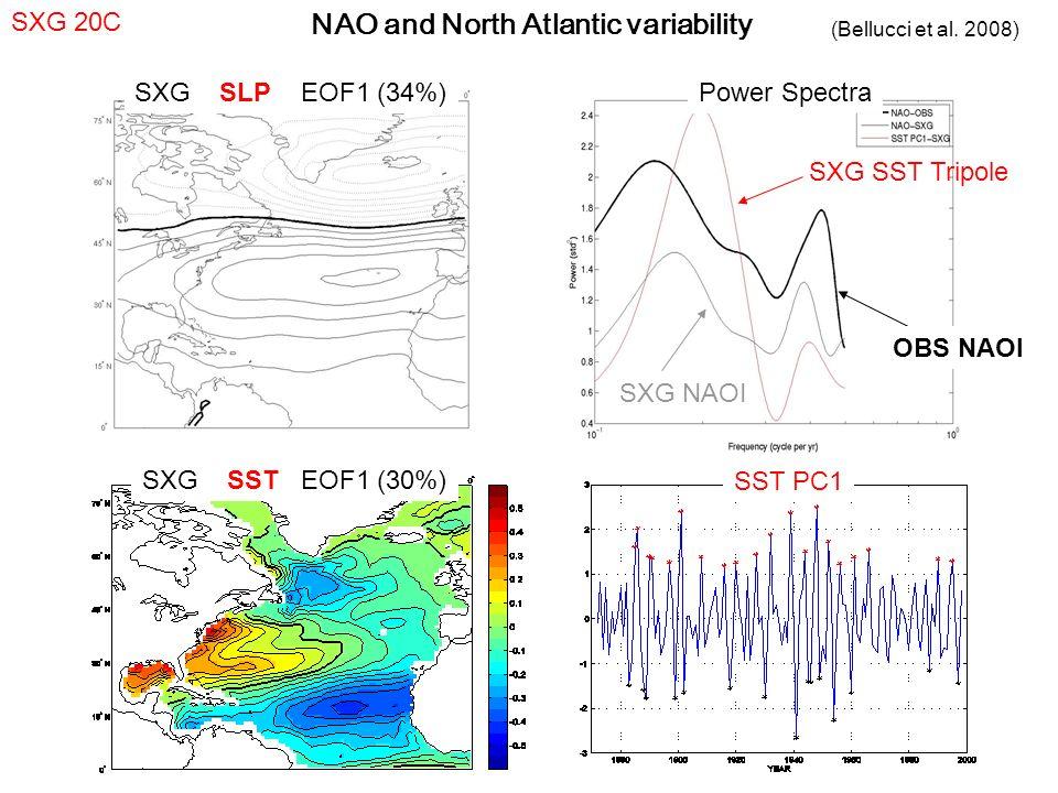 NAO and North Atlantic variability