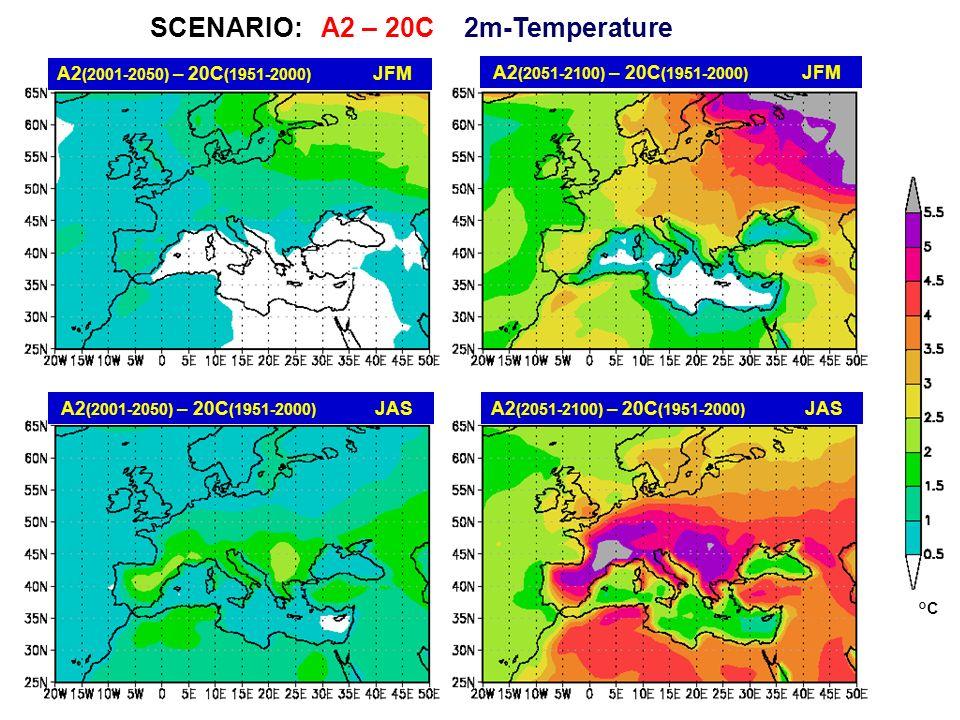 SCENARIO: A2 – 20C 2m-Temperature