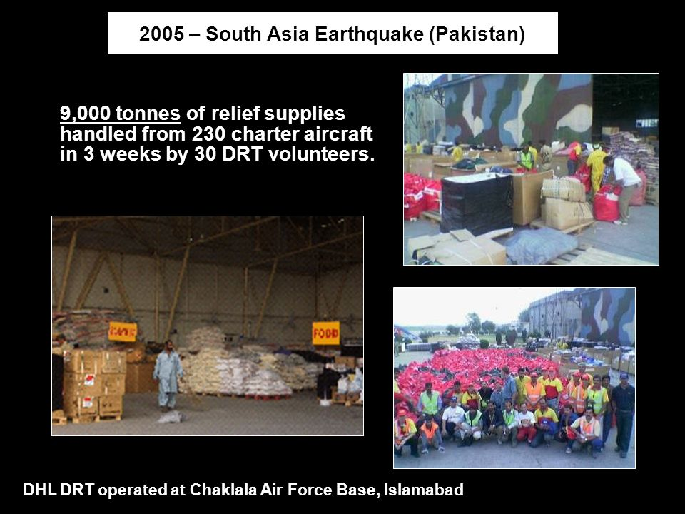 2005 – South Asia Earthquake (Pakistan)
