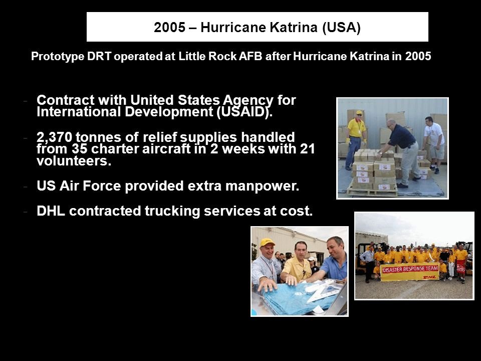 2005 – Hurricane Katrina (USA)
