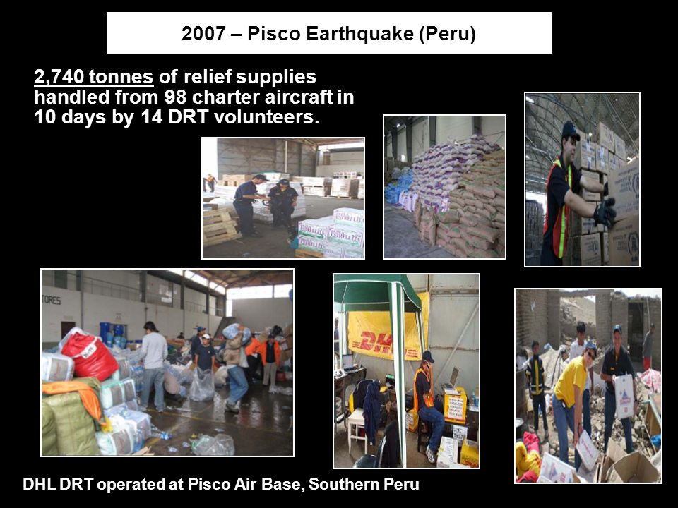 2007 – Pisco Earthquake (Peru)