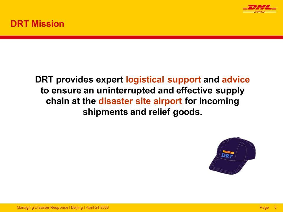 DRT Mission