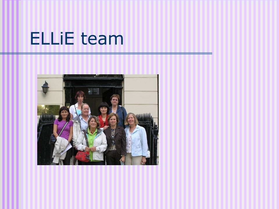 ELLiE team